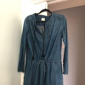 Gap Denim Dress size L NWT